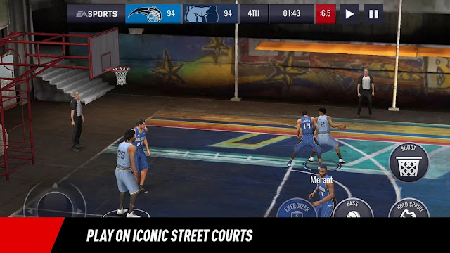 NBA LIVE Mobile Game Basketball For Android