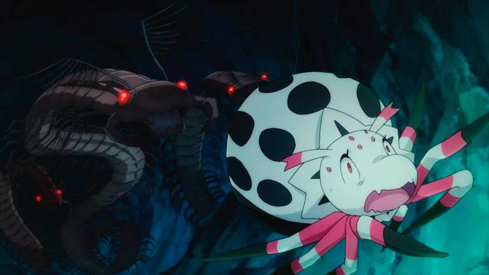 Sí, soy una araña, ¿qué pasa? (Kumo Desu ga, Nani ka?) anime