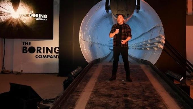 Terowong Masa Depan Anti-kesesakan lalu Lintas dari Elon Musk