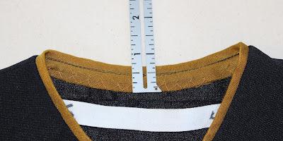 TNG skant - neckline trim