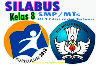 Silabus Prakarya K13 Kelas 8 Semester 1 dan 2 Edisi Revisi 2020