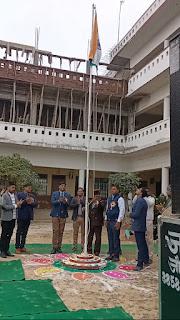 DBS इंटर कॉलेज कादीपुर में मनाया गया गणतंत्र दिवस  | #NayaSaberaNetwork