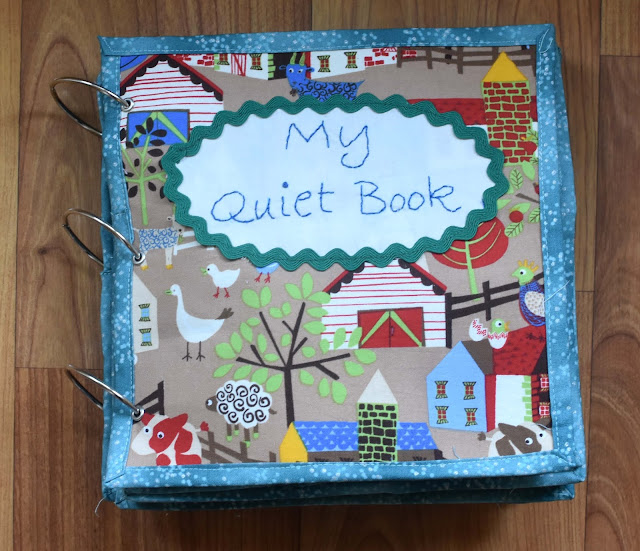 Stitchnquilt ashers quiet book asher turned 2 at the beginning of the month i think that is a good age to have a quiet book here it is gumiabroncs Choice Image