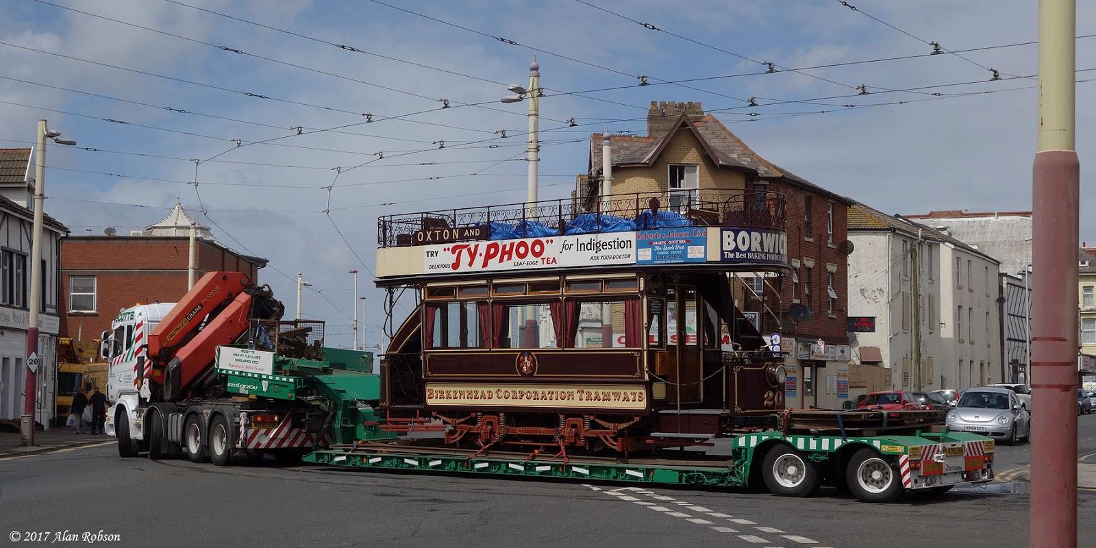 Blackpool Tram Blog: The arrival of Birkenhead 20