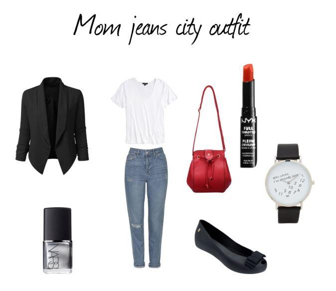 """Jak nosić """"mom jeans""""?"""