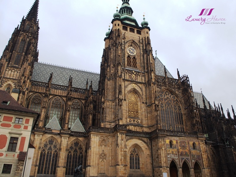 czech republic prague roman catholic st vitus cathedral