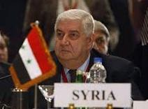 Deputy Prime Minister, Foreign and Expatriates Minister Walid al-Moallem