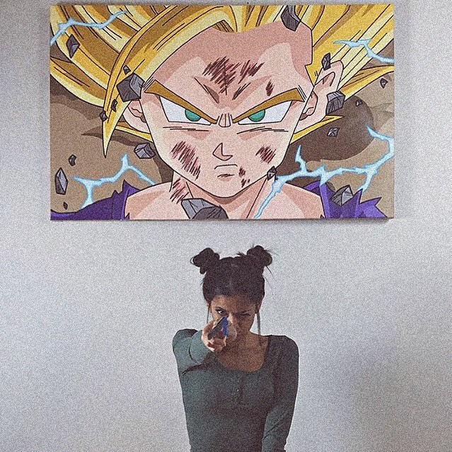 Angely Isart: Dragon Ball & Outras Artes