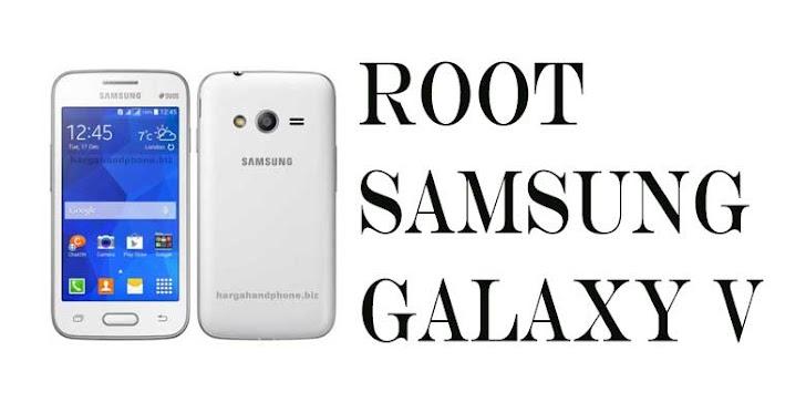 Cara Root dan Pasang CWM Samsung Galaxy V SM-G313HZ