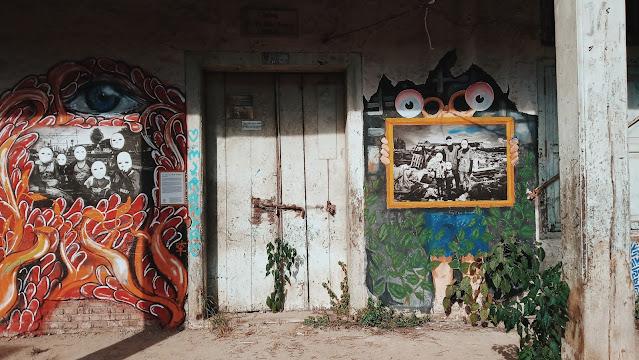 hasil karya seni kolaborasi seniman kota Padang dengan street photographer Jakarta