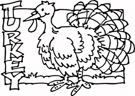 Jarvis varnado free coloring pages turkey for Free printable coloring pages of turkeys