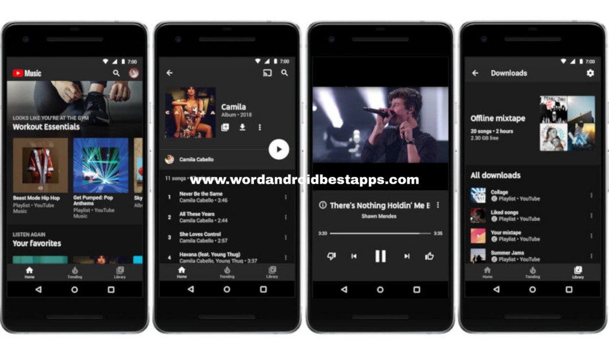 YOUTUBE MUSIC مهكر |تحميل تطبيق يوتيوب موسيقى مهكر YOUTUBE MUSIC PREMIUM (المدفوع  مجانا )