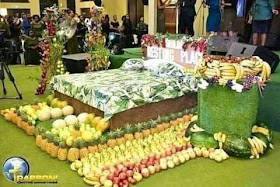 Photos Of Pastor Showing His Members What Heaven Looks Like With Bed And Flowers Hit Online 3