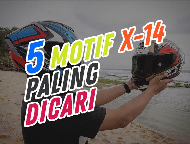 Pilihan Warna Helm SHOEI X14 Beserta Harganya, 5 Motif Ini Paling Langka dan Banyak Diburu