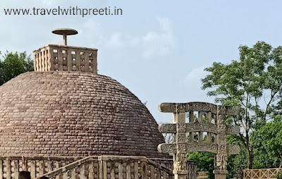 सांची का स्तूप रायसेन - Sanchi Stupa Raisen