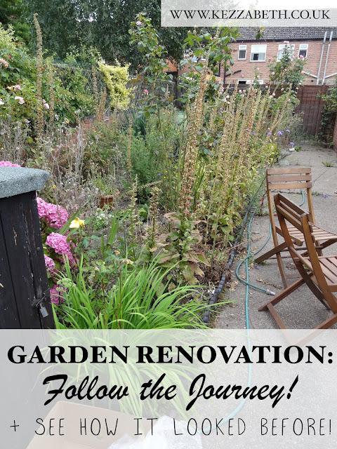 victorian terrace garden renovation