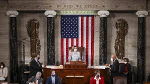 US House of Representatives voted 232-197 to impeach Trump