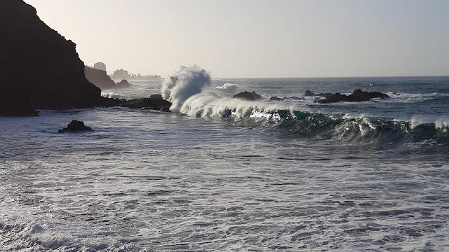 Atlantik Wellen Kanarische Inseln