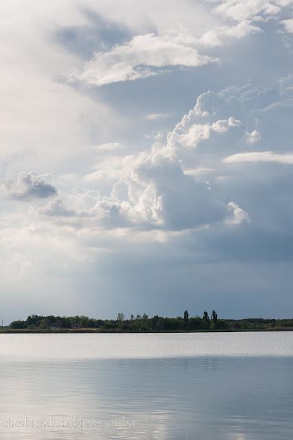 Felhők a palicsi tó felett