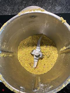 Mixage des pistaches
