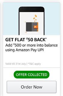 Amazon Loot On Adding Moeny