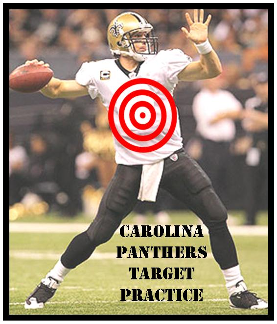 sale retailer fe46f 34617 Carolina Panthers: TARGET PRACTICE