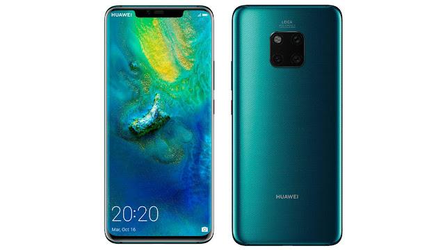 Terjual Senilai Rp 30 Miliar Sebuah Handphone Huawei Mate 20 Pro