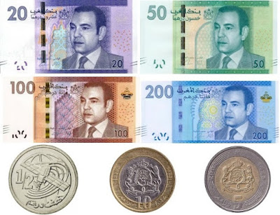 Countries and Currency Moroccan dirham