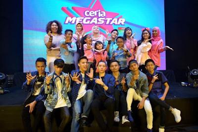 Senarai Peserta Program Ceria Megastar 2018