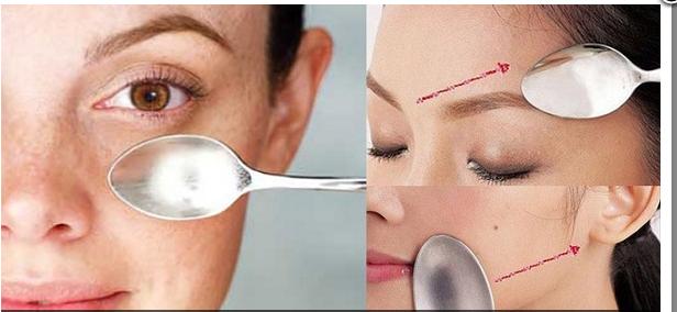 Terapi Sendok Untuk Wajah cantik dan Awet Muda