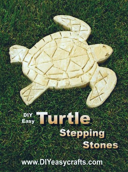 Sea Turtle Garden Stepping Stones