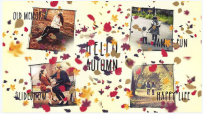 Projects – Motion Array – Hello, Autumn Slideshow – 790174 [AEP]
