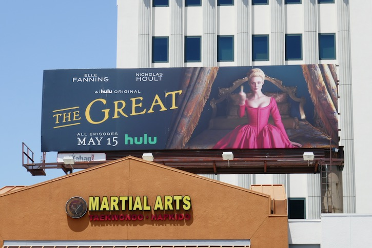 Great Hulu series billboard