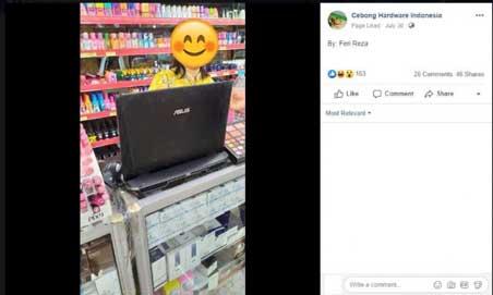 Laptop Gaming Puluhan Juta Cuma Buat Begini, Netizen: Jiwa Miskinku Membara