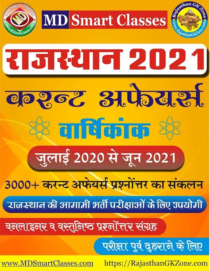 Rajasthan Current Affairs PDF 2021