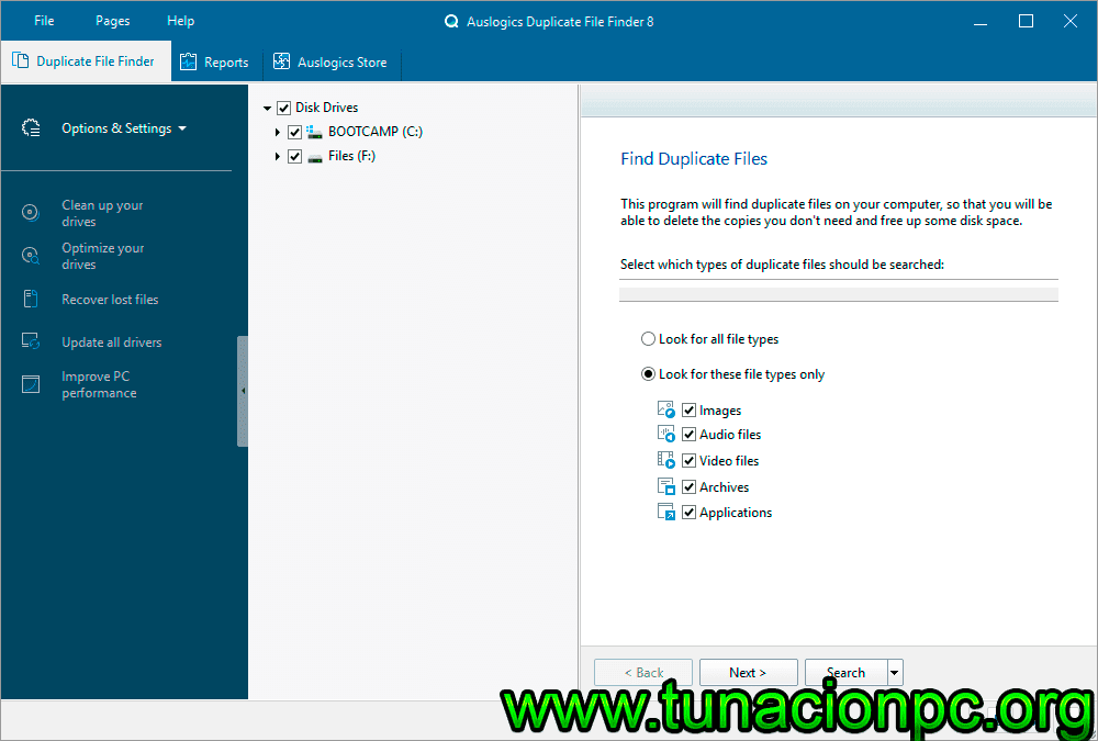 Auslogics Duplicate File Finder Gratis con Activador