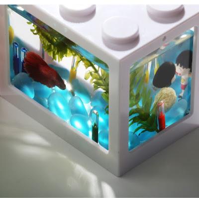 Lego Brick Shape Aquarium Tanks 3