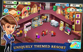 Resort Tycoon Apk v3.8 Mod Terbaru Unlimited Gems Gratis