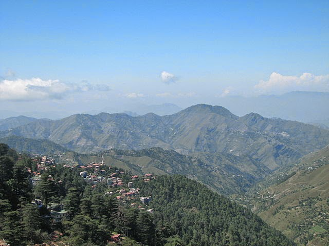 shimla - As a mesmerizing hill station in Himachal Pradesh