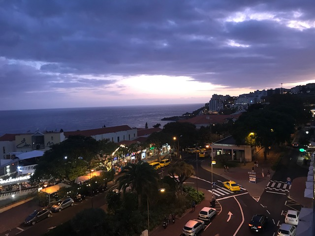 Madeira, Night, Sunset, Lido,
