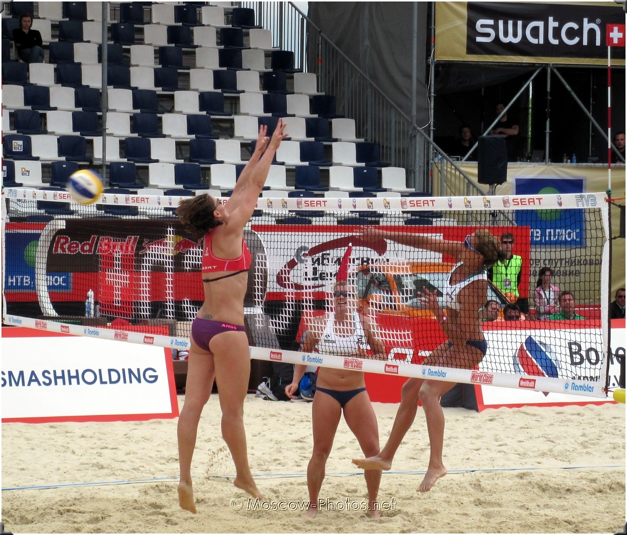 BEACH VOLLEYBALL SECOND TIME ATTACK