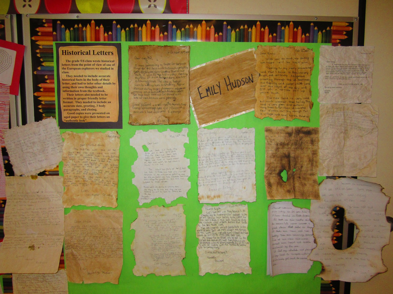 Runde S Room Writing Historical Letters