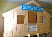 diy clubhouse fort bed