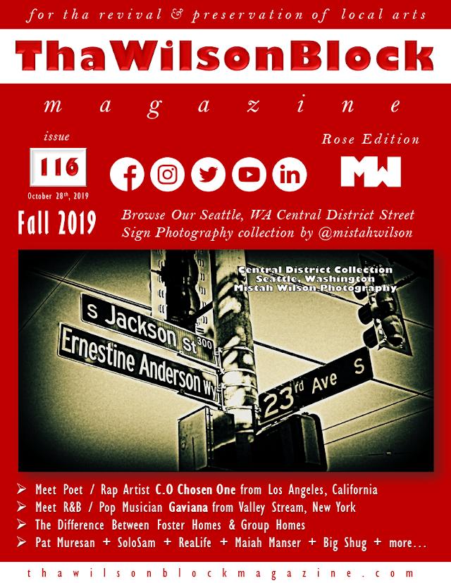 ThaWilsonBlock Magazine Issue116 Rose Edition (Fall 2019)