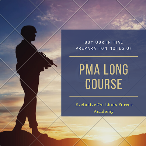 PMA Long Course Preparation Notes | Lions Forces Academy
