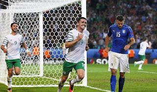 L'ITALIA DELLE RISERVE DELUDE E PERDE 0-1 CONTRO LA MODESTA IRLANDA (CHE SI QUALIFICA)