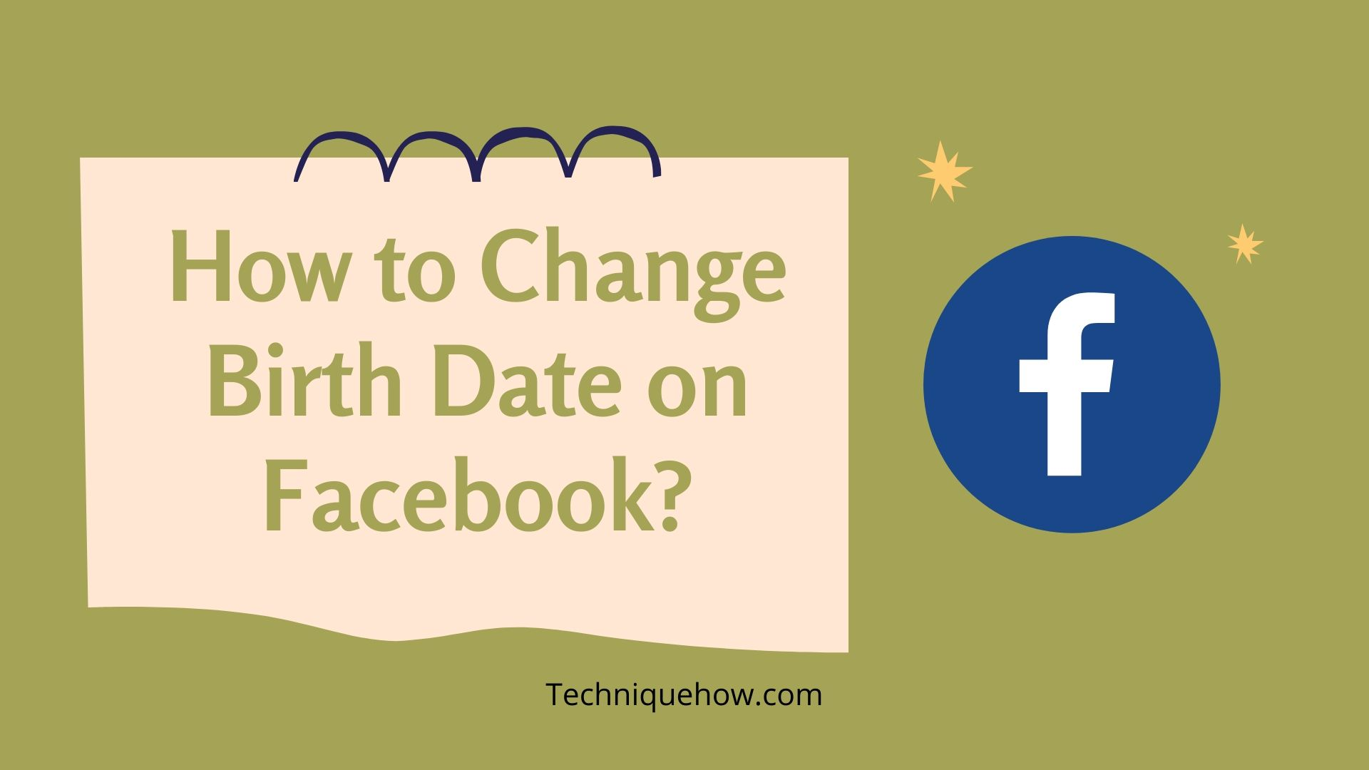 Change Birth Date on Facebook