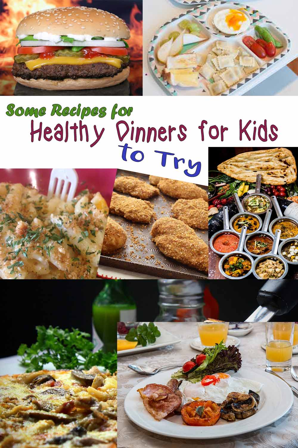 Some Recipes for Healthy Dinners for Kids to Try