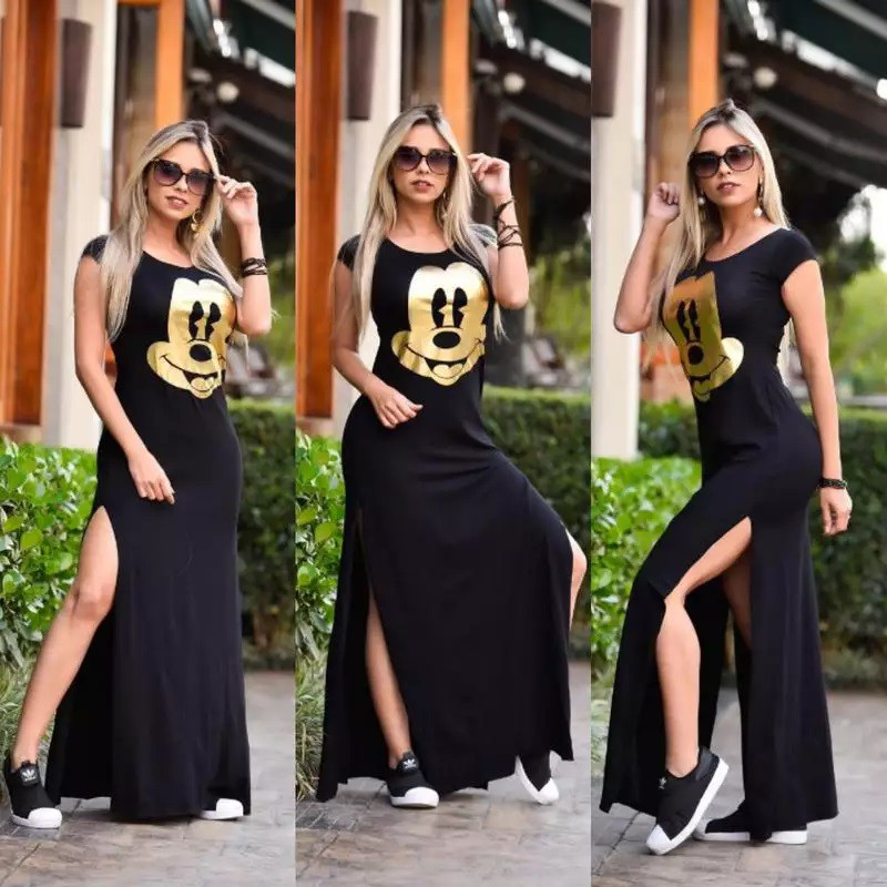 Vestidos longos não saem de moda