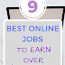 Top 9 Best Online Jobs To Earn Over $3000 From Home!!!
